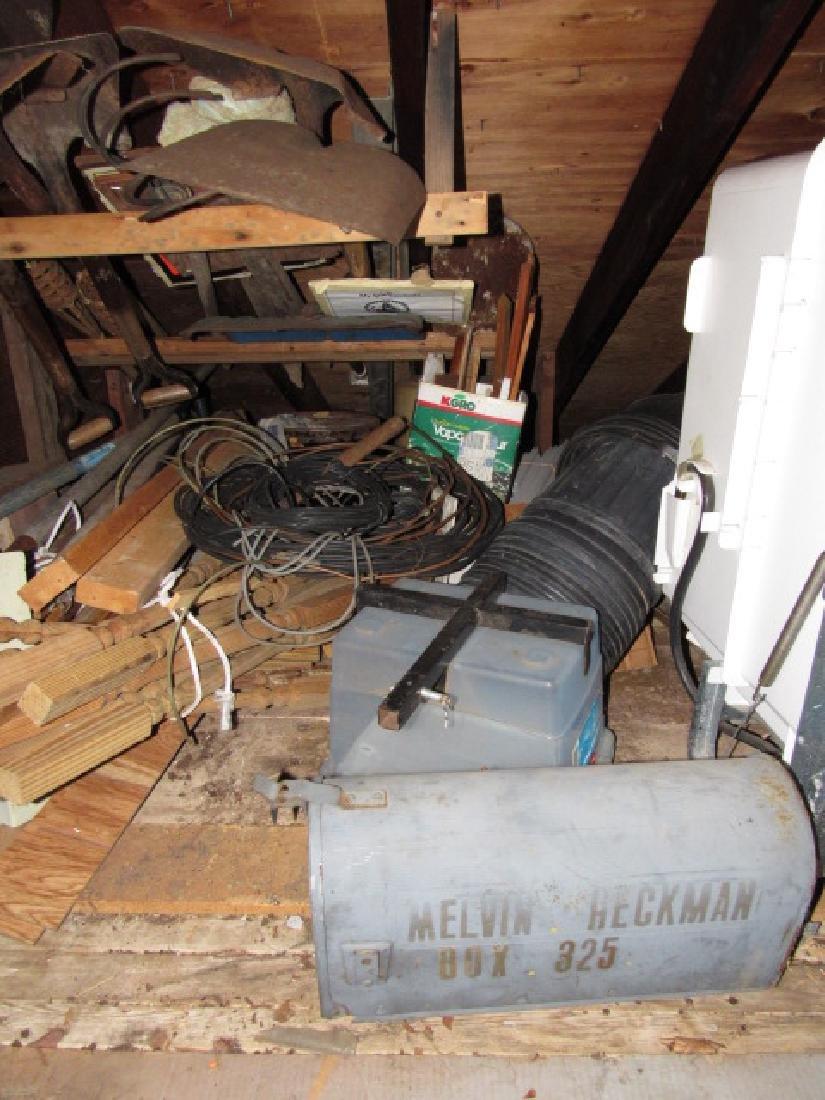 Contents of Upper Left Side of Garage - 4