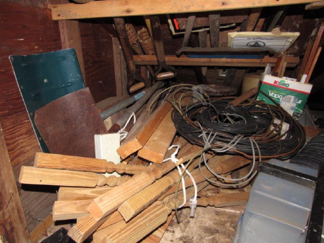 Contents of Upper Left Side of Garage - 5