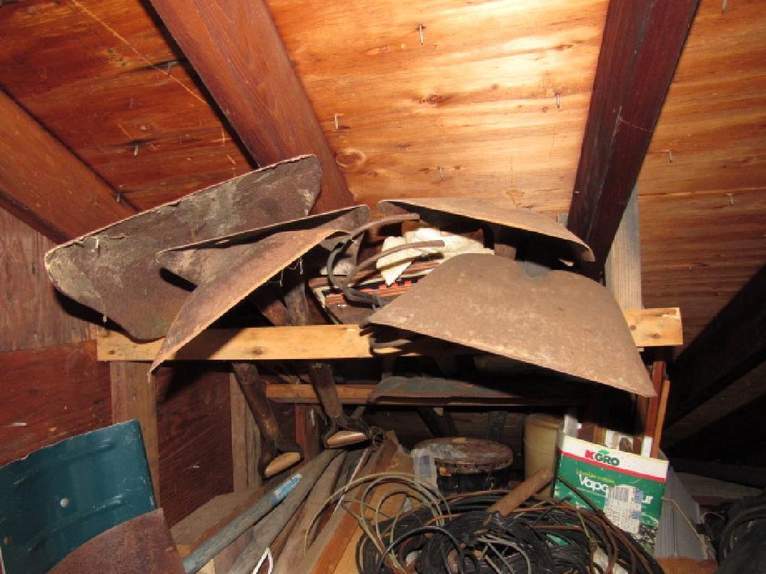 Contents of Upper Left Side of Garage - 6
