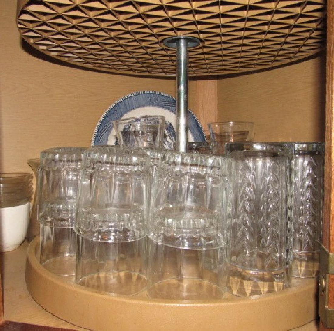 Cabinet Lot Stemware Glasses - 3