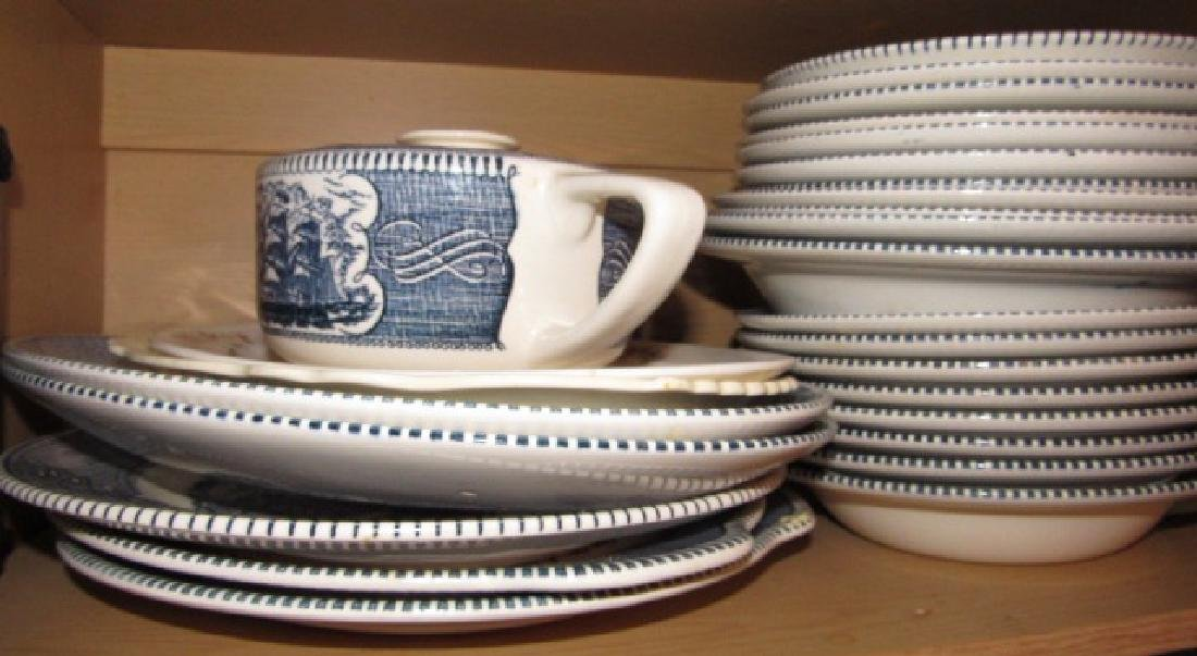 Royal Courier & Ives Dinnerware Set - 2