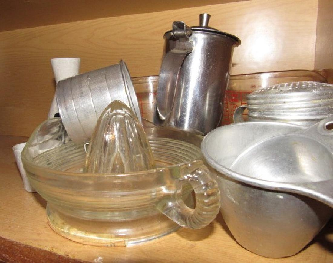 Contents of Kitchen Cabinets - 2