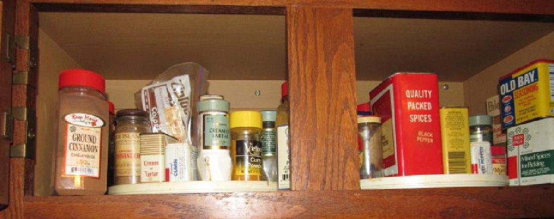 Contents of Kitchen Cabinets - 4