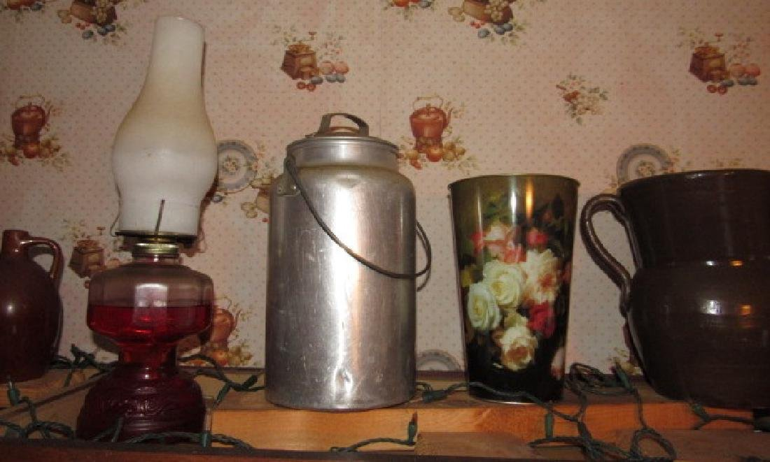 Stoneware Jugs Milk Cream Cans Pitcher & Misc - 4