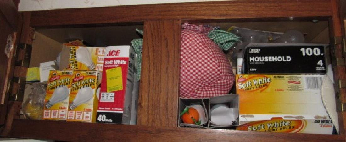 Contents of 4 Cabinets - 3