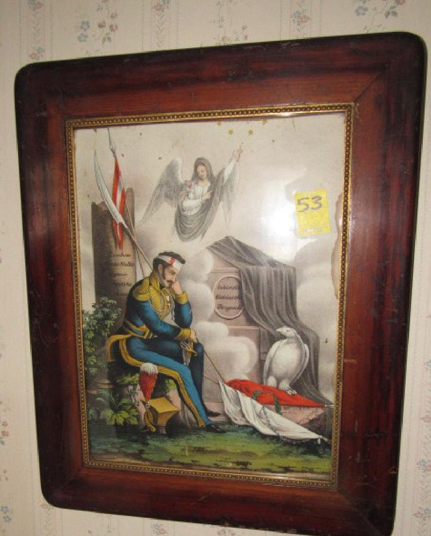 Foreign Wounded Soldier Print