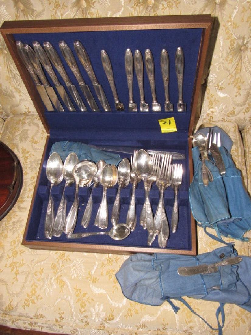 Rogers Silver Plate Set