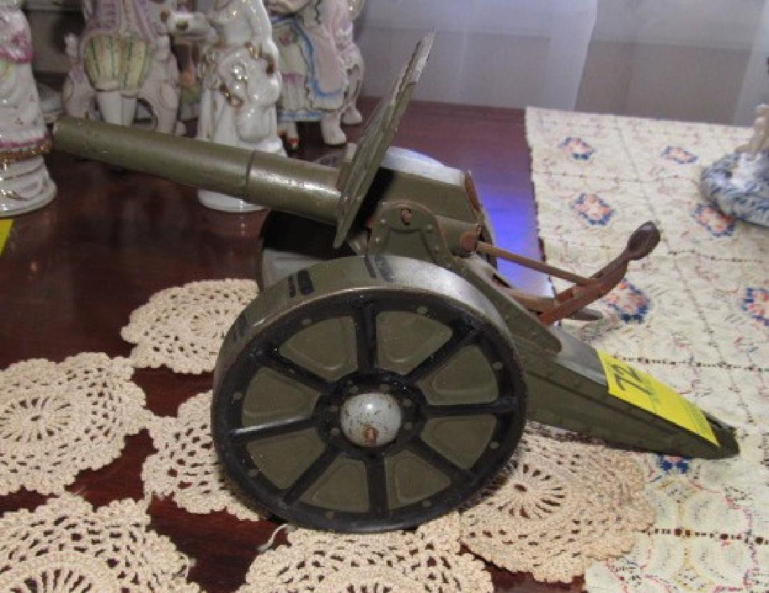 Tin Toy Cannon