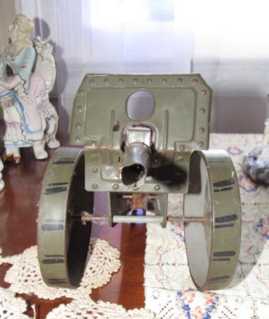 Tin Toy Cannon - 2