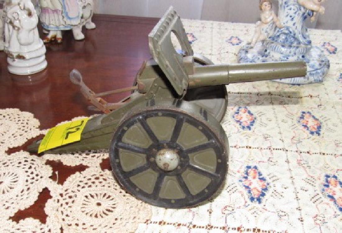 Tin Toy Cannon - 3