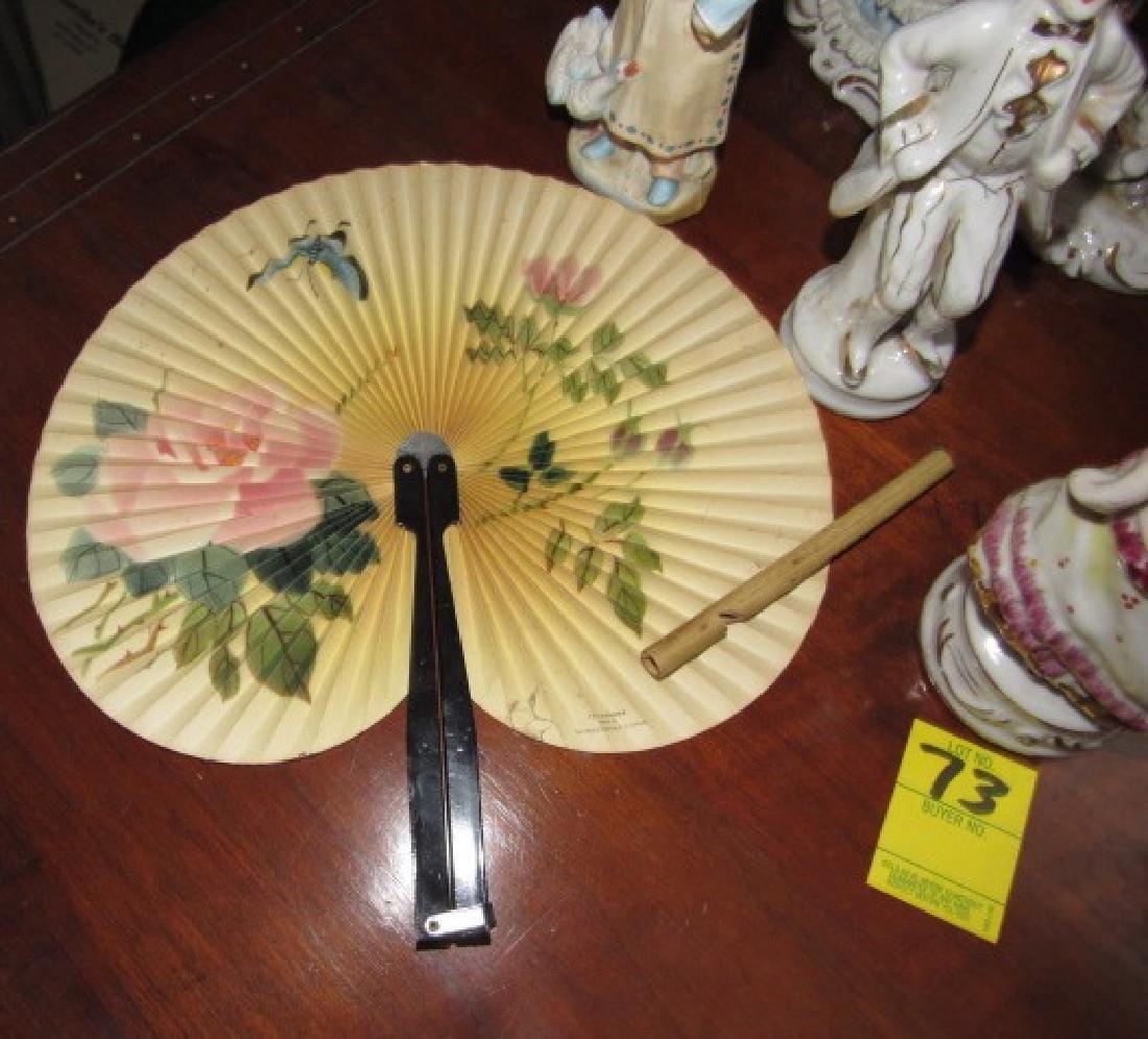 Statues & Oriental Fan - 4