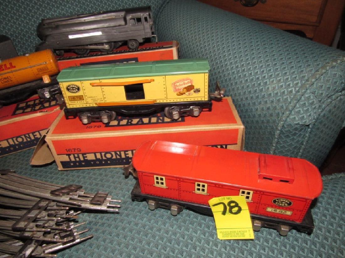 Lionel 6401 Outfit Train Set - 6