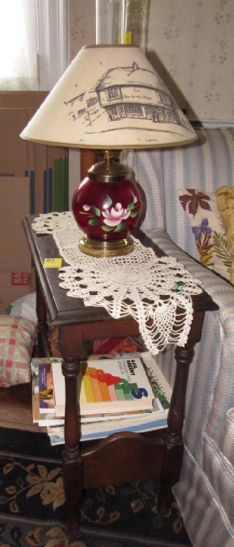 Table Lamp & Books - 2