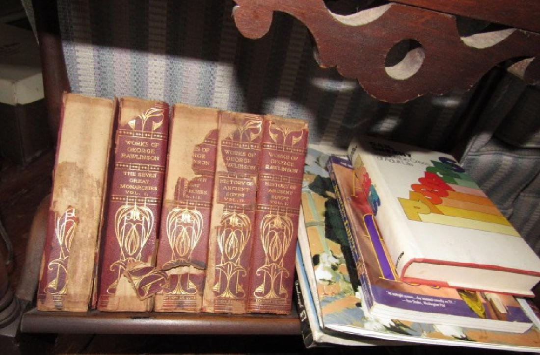 Table Lamp & Books - 3