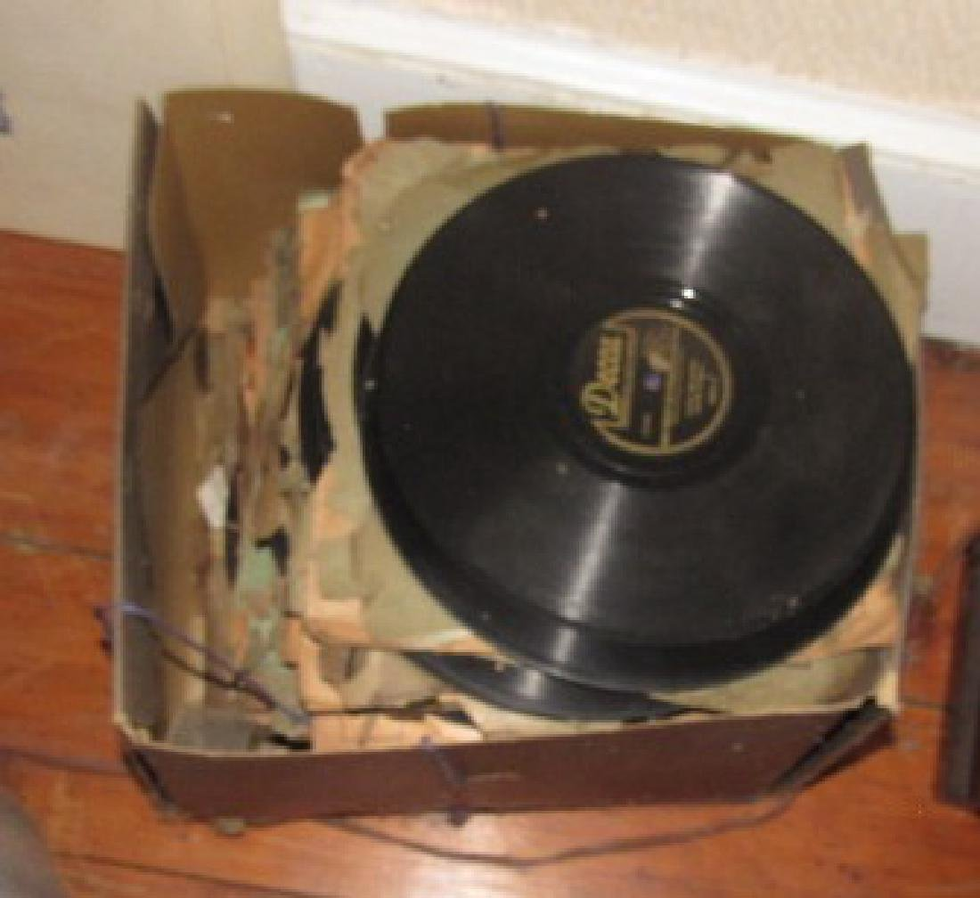 Lot of 78 Records