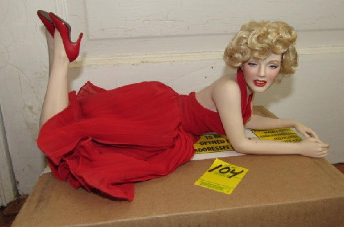 Franklin Mint Marilyn Monroe Doll