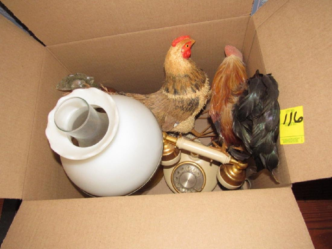 Chickens & Oil Lamp