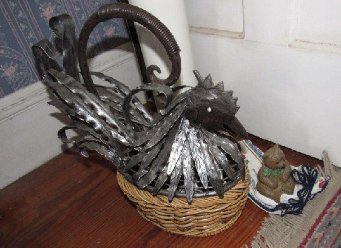 Chicken Basket Napkin Holders & Doorstop