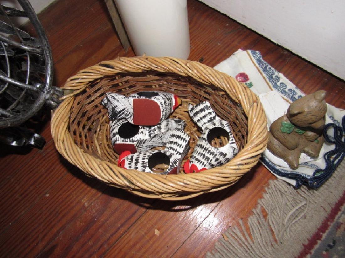 Chicken Basket Napkin Holders & Doorstop - 2