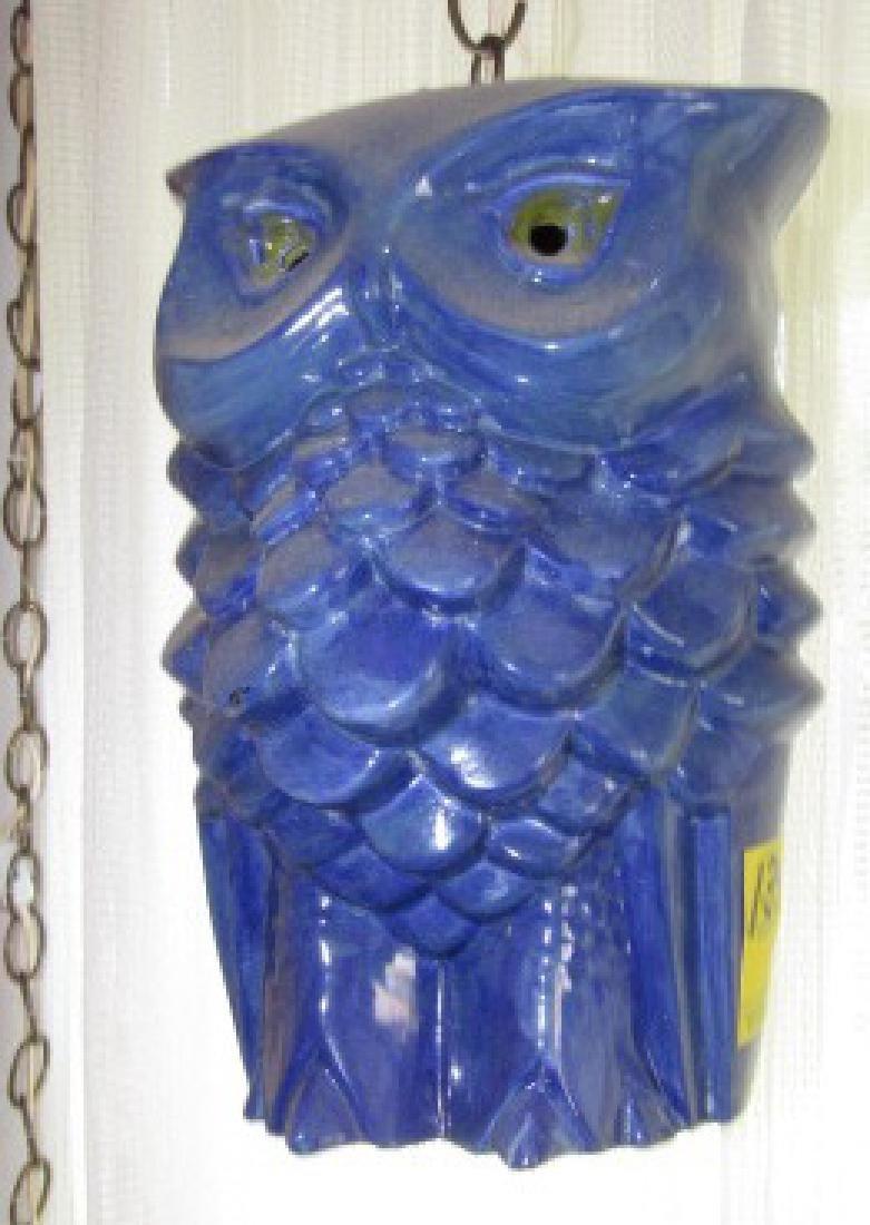 Hanging Owl Lamp