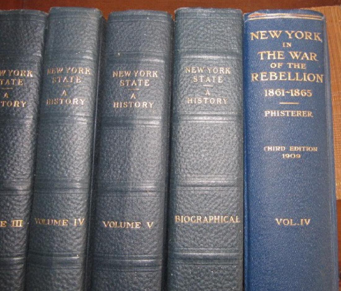 New York State History Books & War - 2