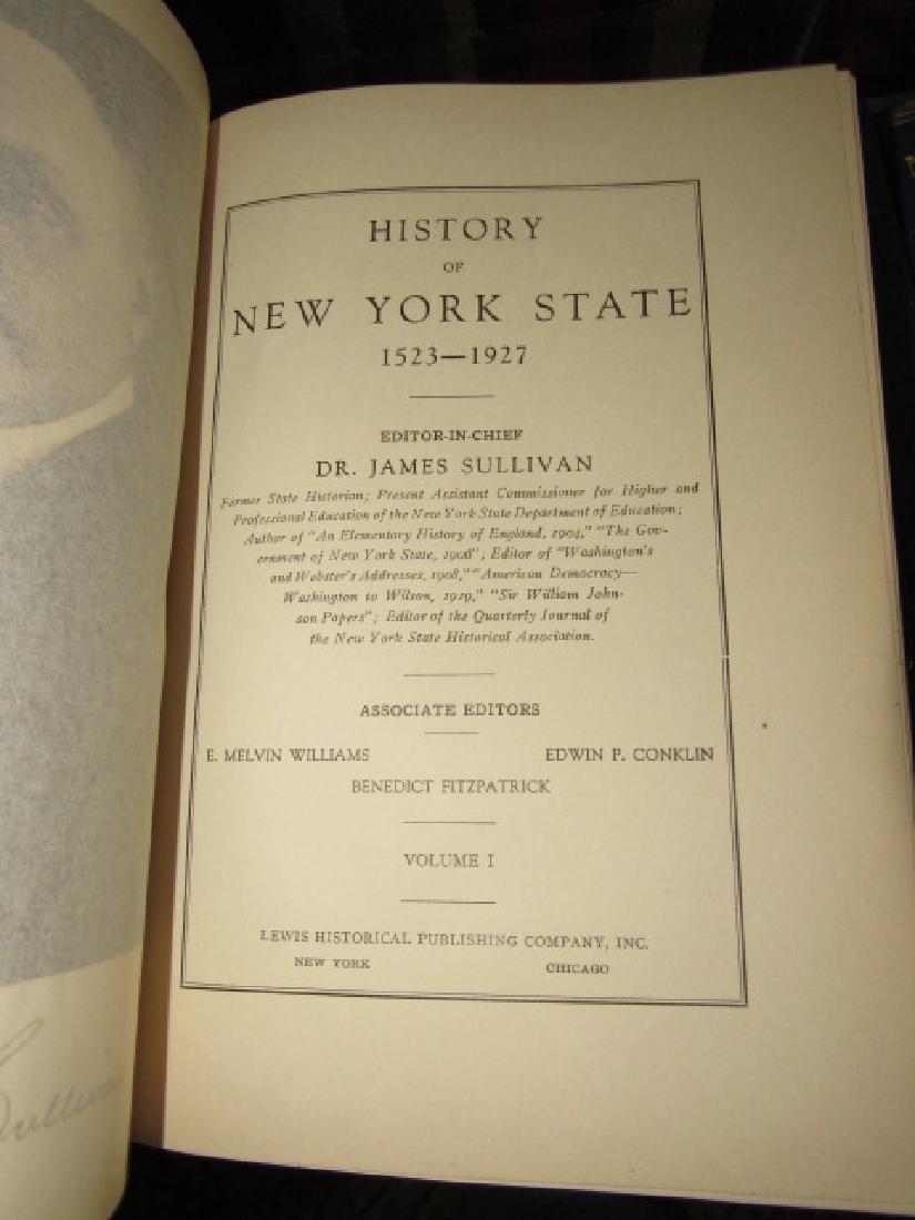 New York State History Books & War - 4