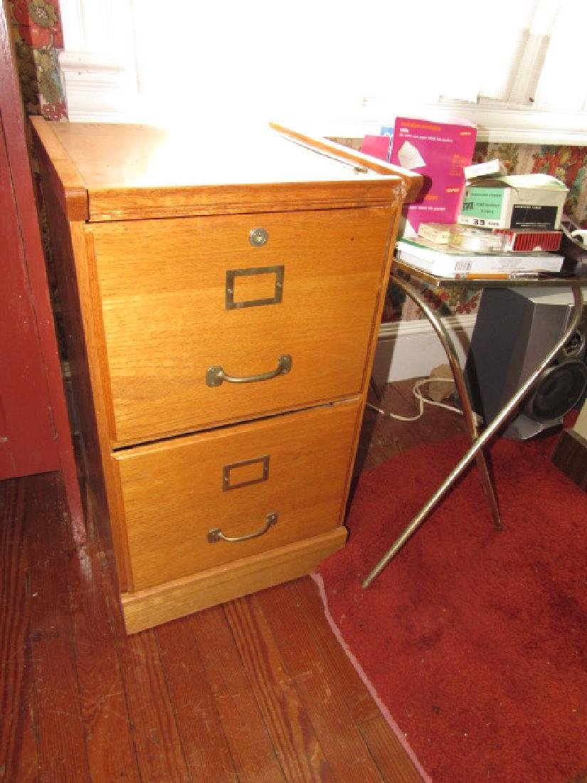 File Cabinet Stereo Lamp & Misc