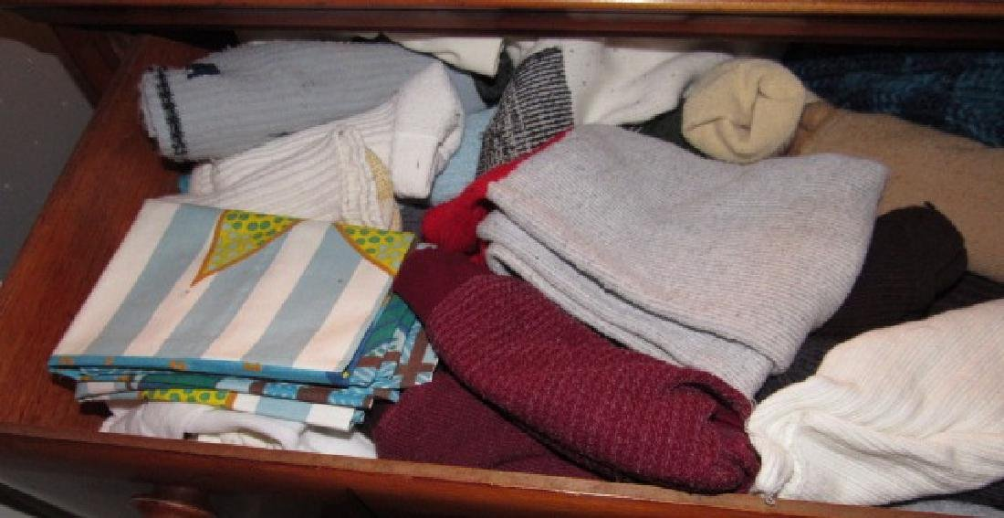Clothing & Towel Contents of Dresser