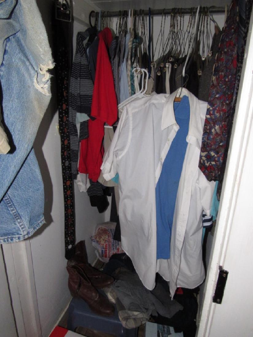 Clothing Closet Contents