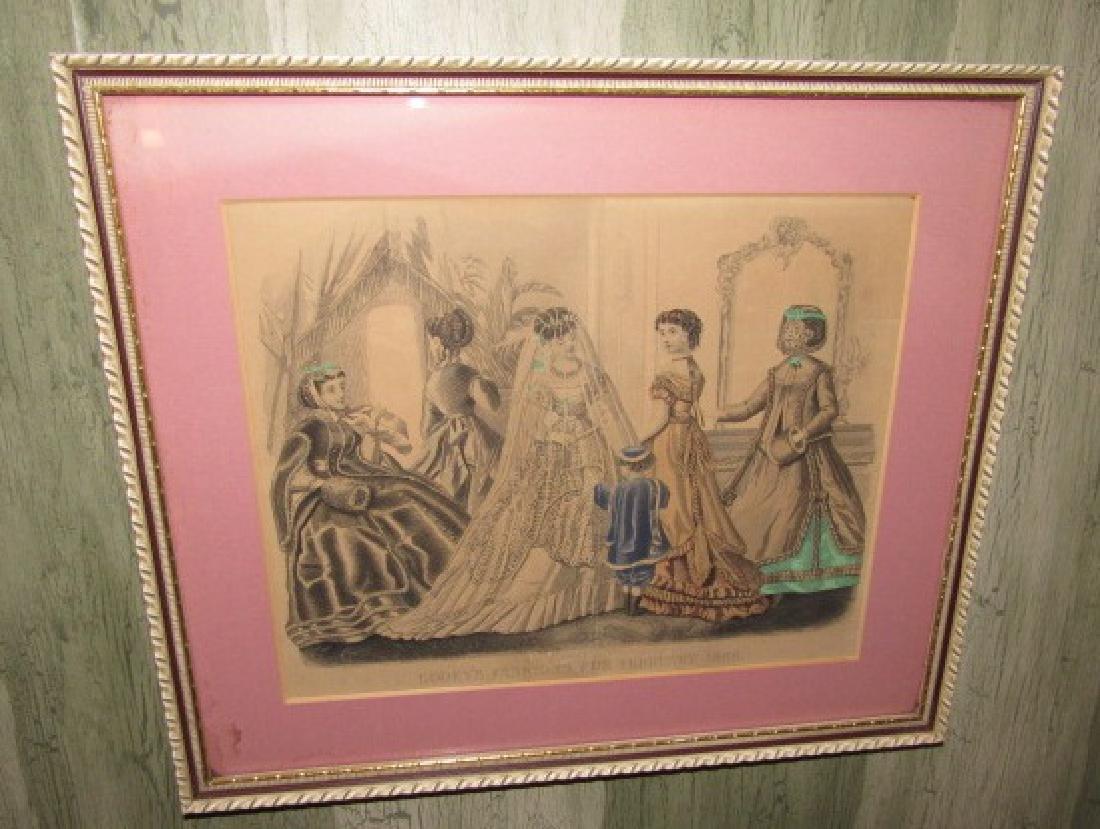 2 Victorian Prints - 3