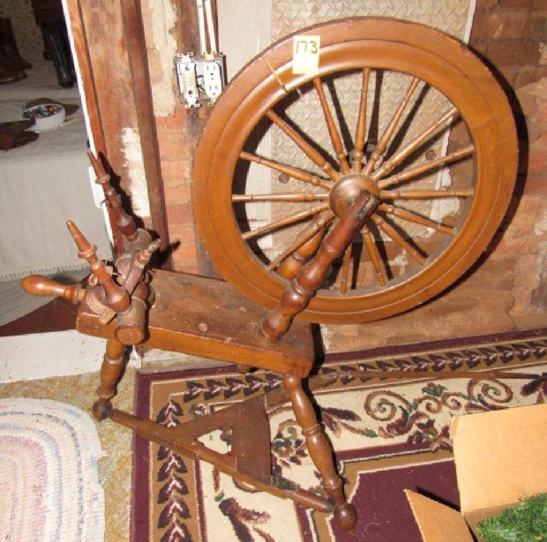 Antique Spinning Wheel Oct 17 2017 M J Stasak Jr Auction And Raisal Service In Nj