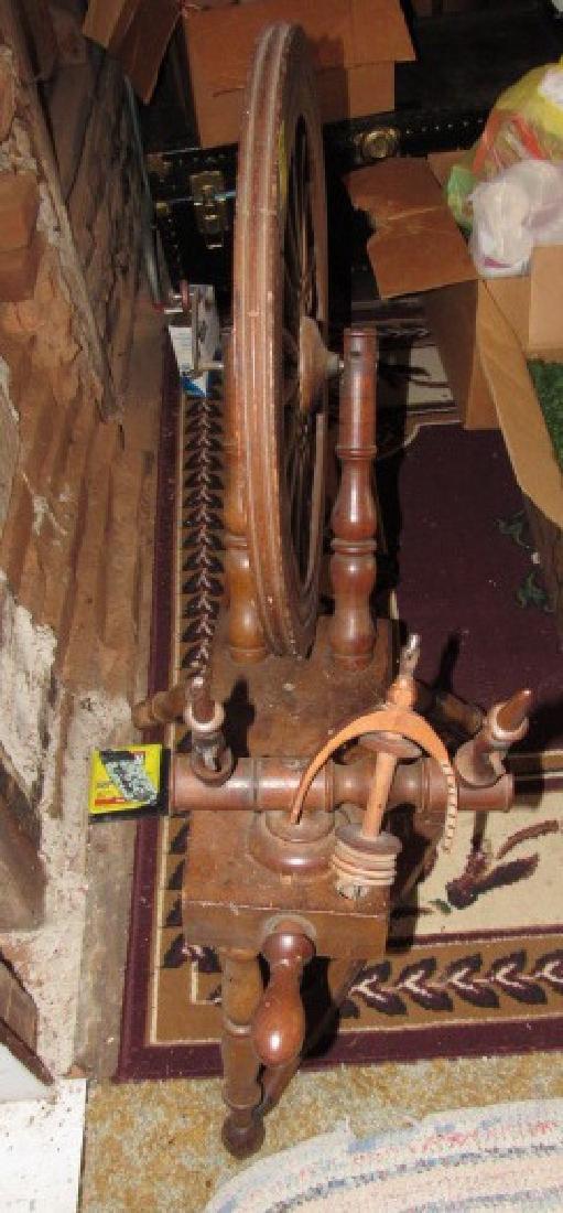 Antique Spinning Wheel - 2