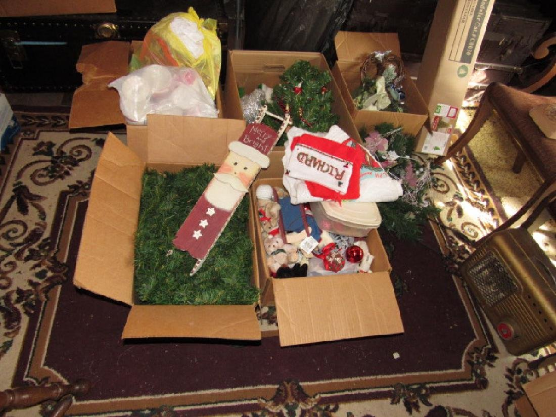 Partial Contents of Attic Crawl Space Christmas - 2
