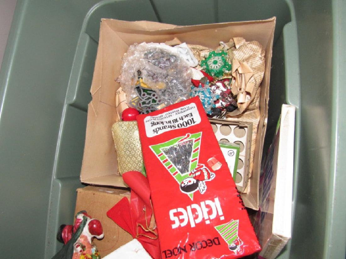 Partial Contents of Attic Crawl Space Christmas - 8