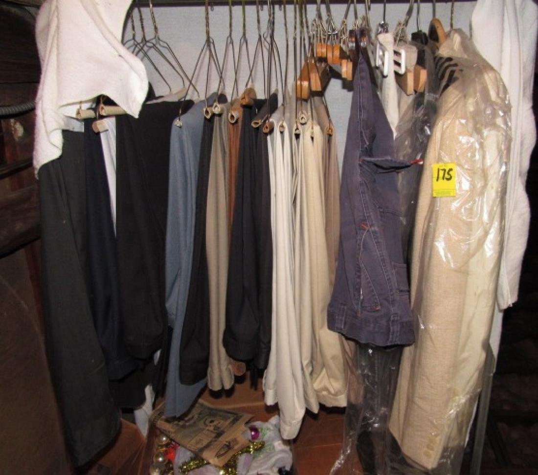 Mens Clothing Pants & Rack