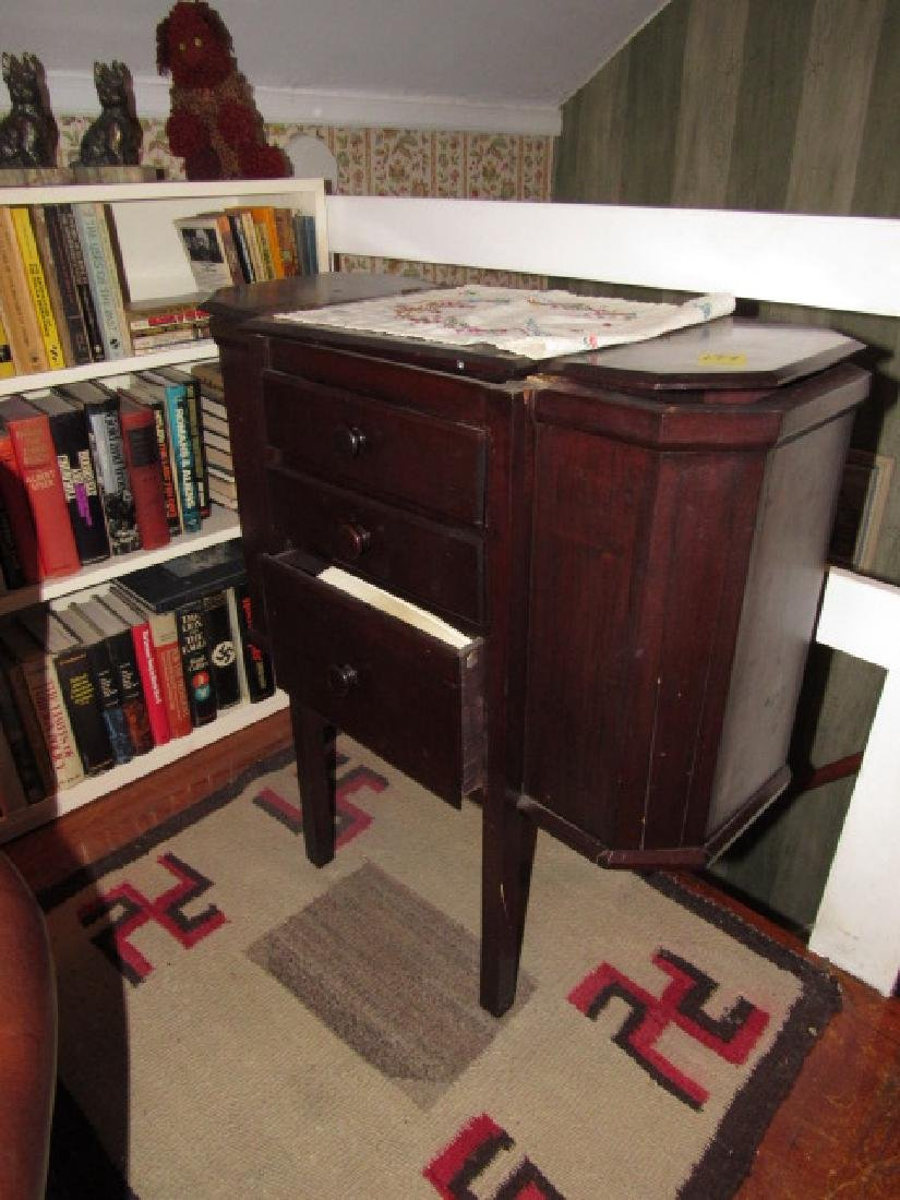 Sewing Stand w/ books