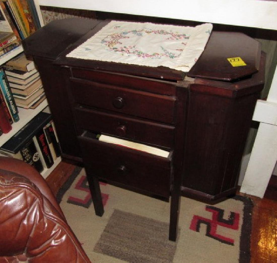 Sewing Stand w/ books - 3