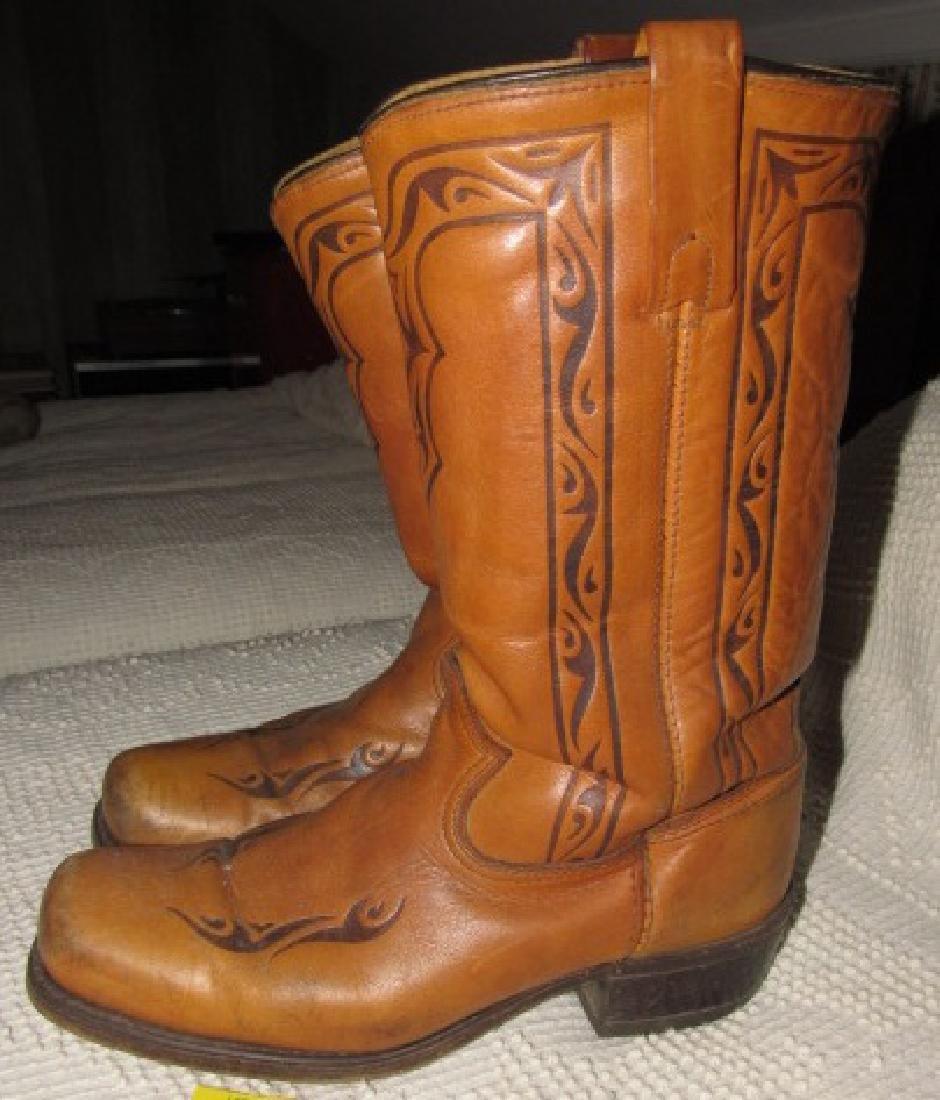 9 1/2 Cowboy Boots - 2
