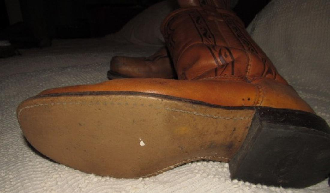 9 1/2 Cowboy Boots - 3