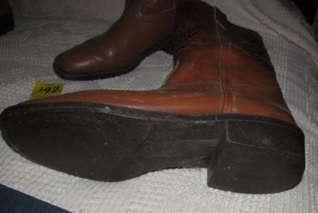 Cowboy Boots w/ Eagle - 3