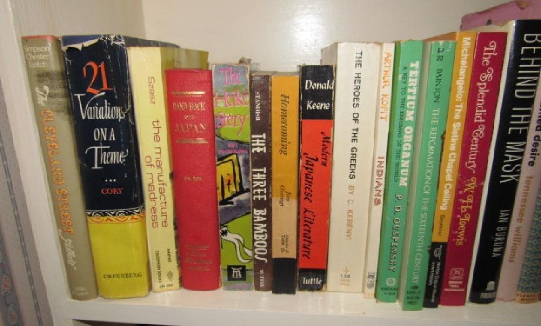 Shelf & Book Lot - 2