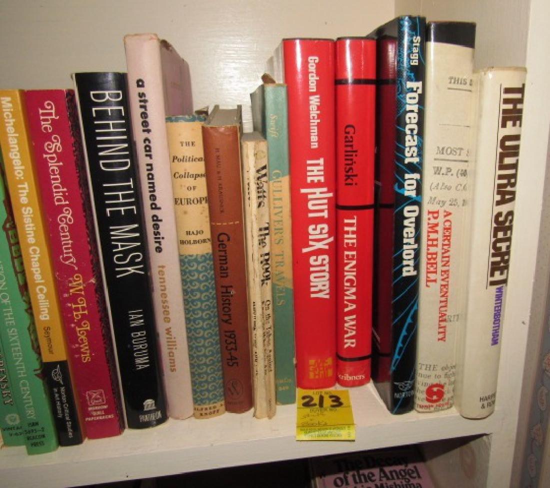 Shelf & Book Lot - 3