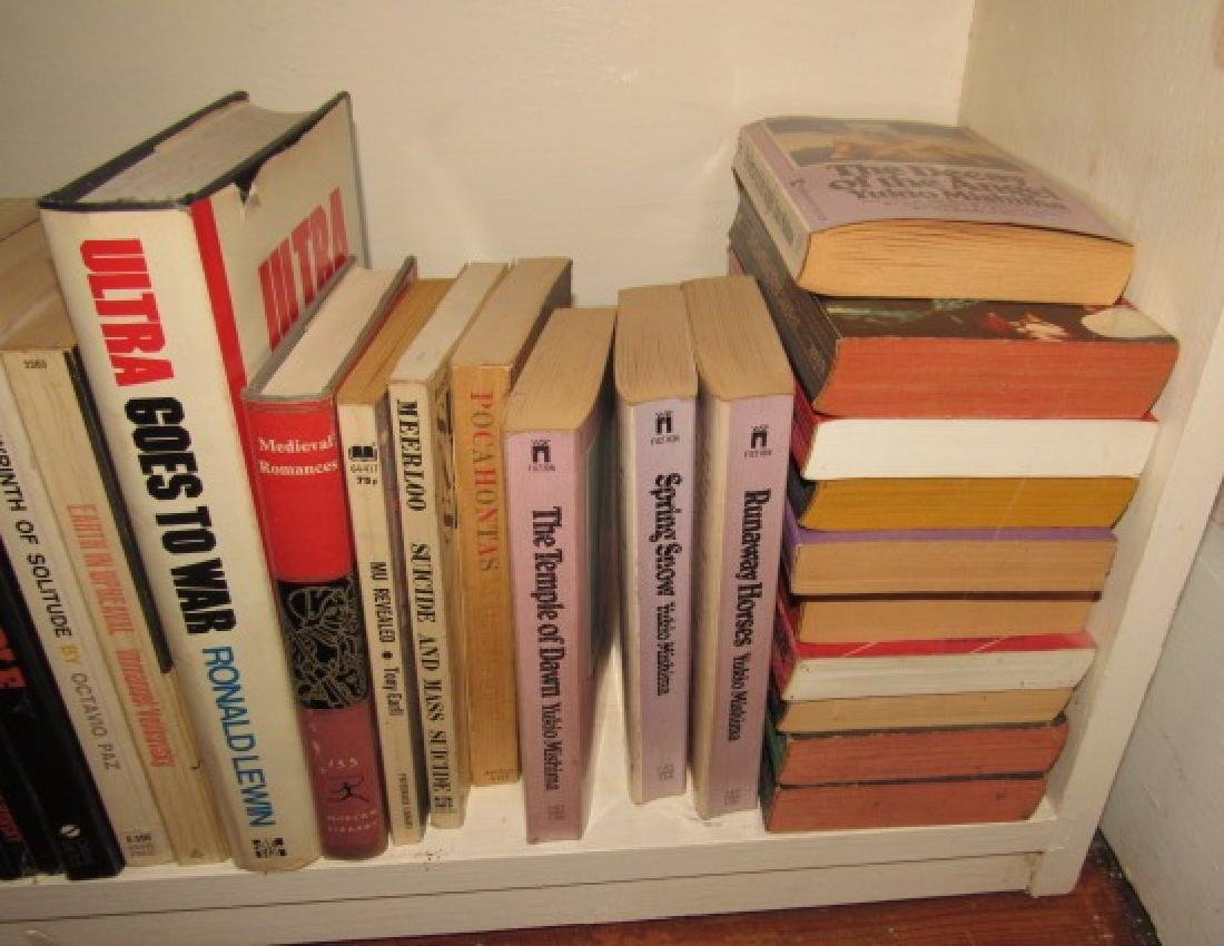 Shelf & Book Lot - 4