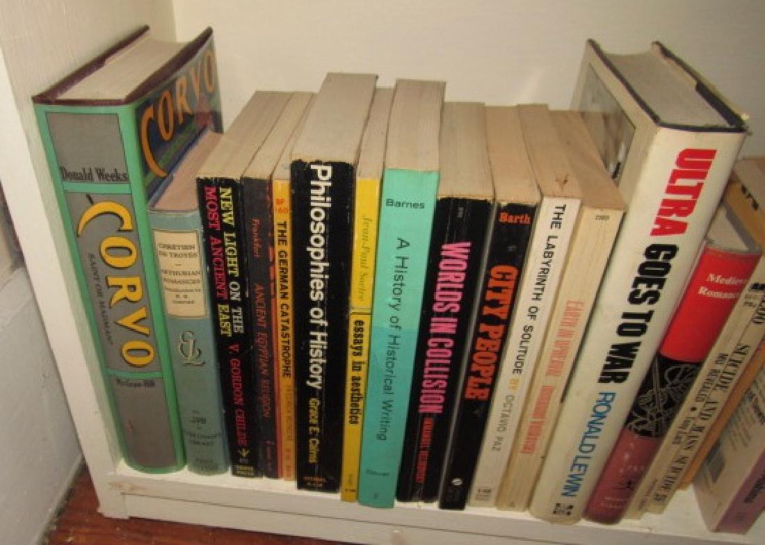 Shelf & Book Lot - 5