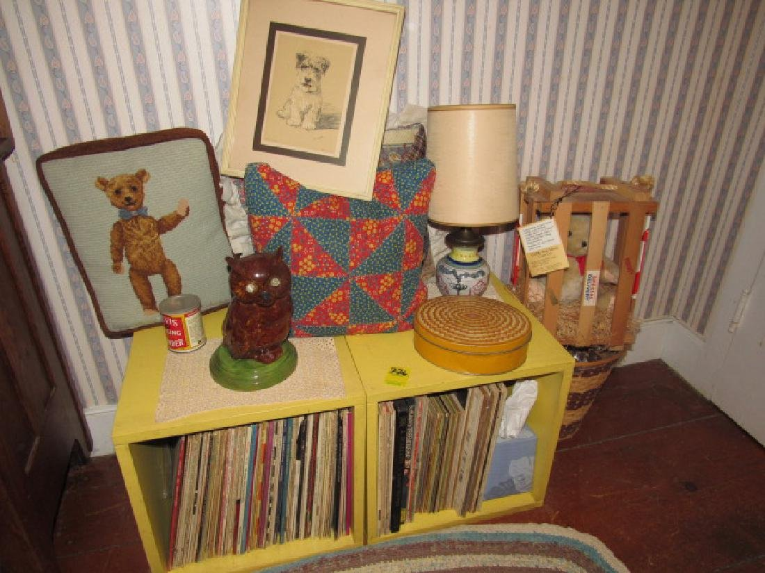 Owl Lamp Records Shelf Lot