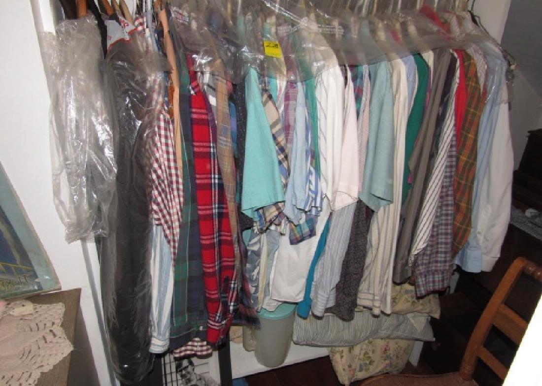 Clothing Closet Lot