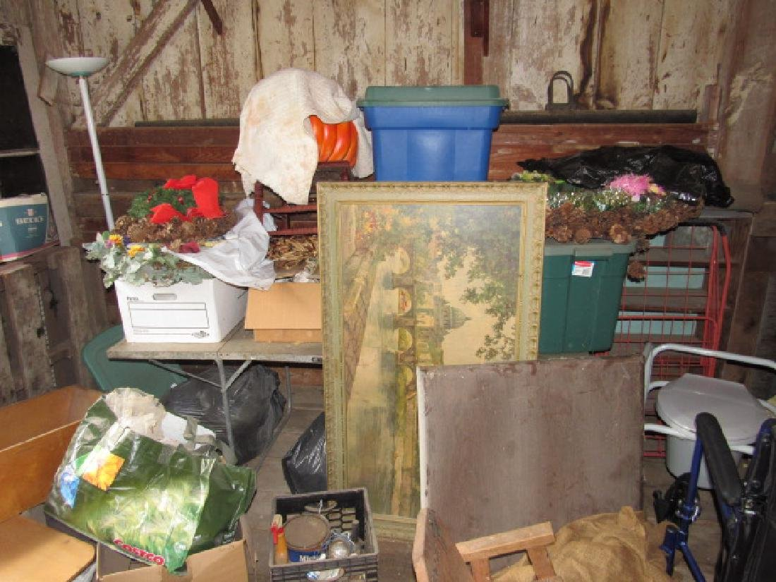 Partial Contents of Barn - 9