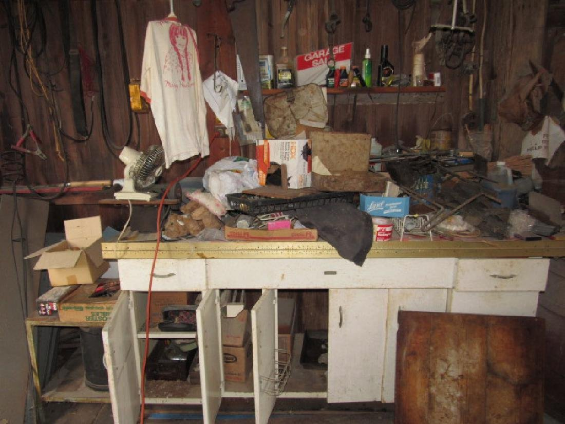 Contents of Left Side of Barn - 2