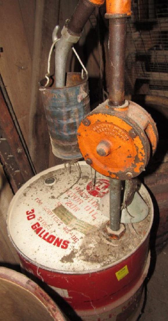 30 Gallon GLF Motor Oil Drum - 3