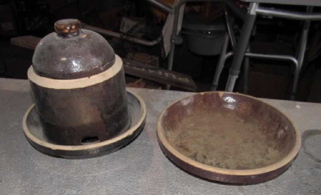 Stoneware Chicken Waterer